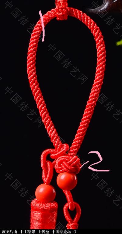 中国结论坛 想用朱砂饰品做个车挂,找了个图片,有问题请教!!  结艺互助区 213859qtuougmkbaaqarab