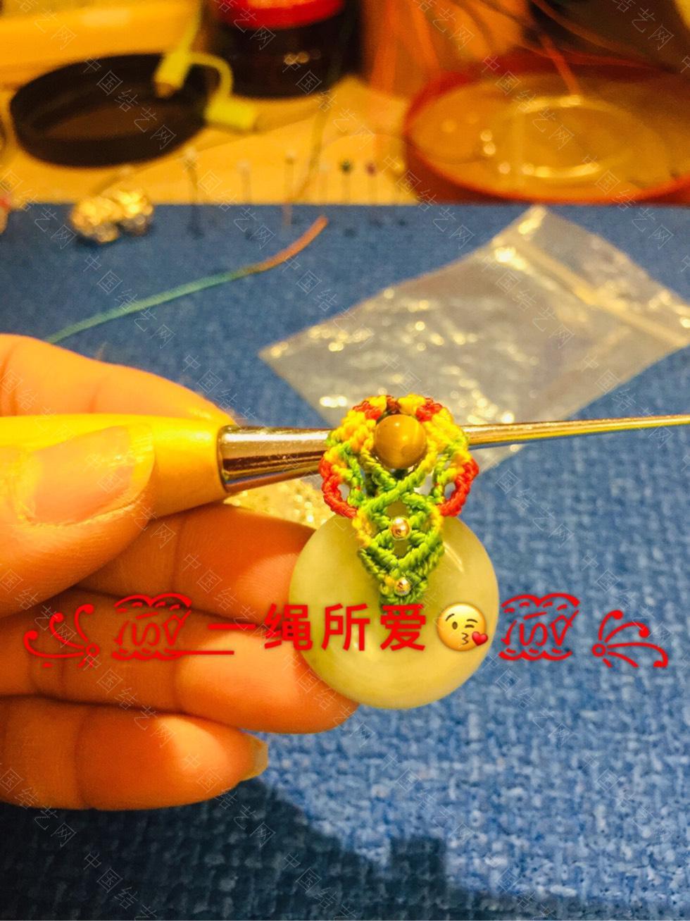中国结论坛 花色系平安扣  作品展示 093845fr52q0m92mir8o0b