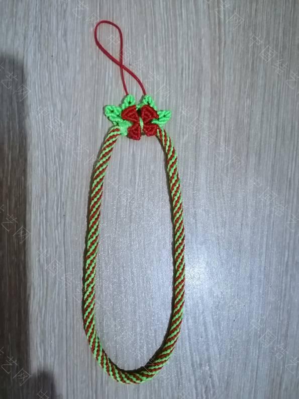 中国结论坛 圣诞花环手机链  作品展示 112524lnwqwggwdmdd5t6g
