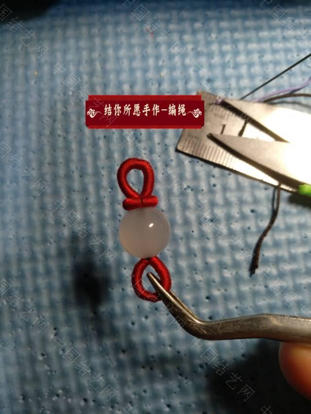 中国结论坛 一个珠子两线圈  图文教程区 003935y2uxtouxa3x2qthy