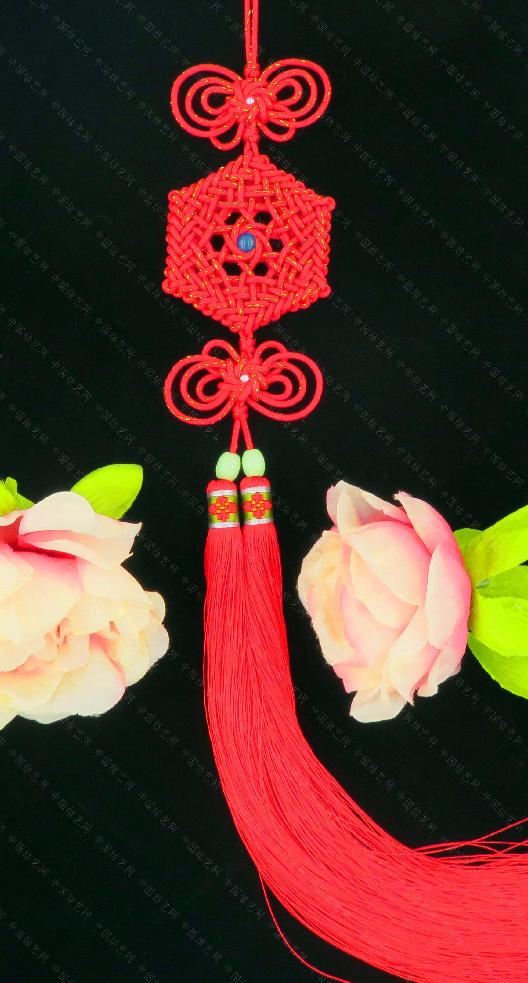 中国结论坛 仿霸王花老师的花纹宝结和星辰结共用套  作品展示 184639t1vnlddkvnepekng
