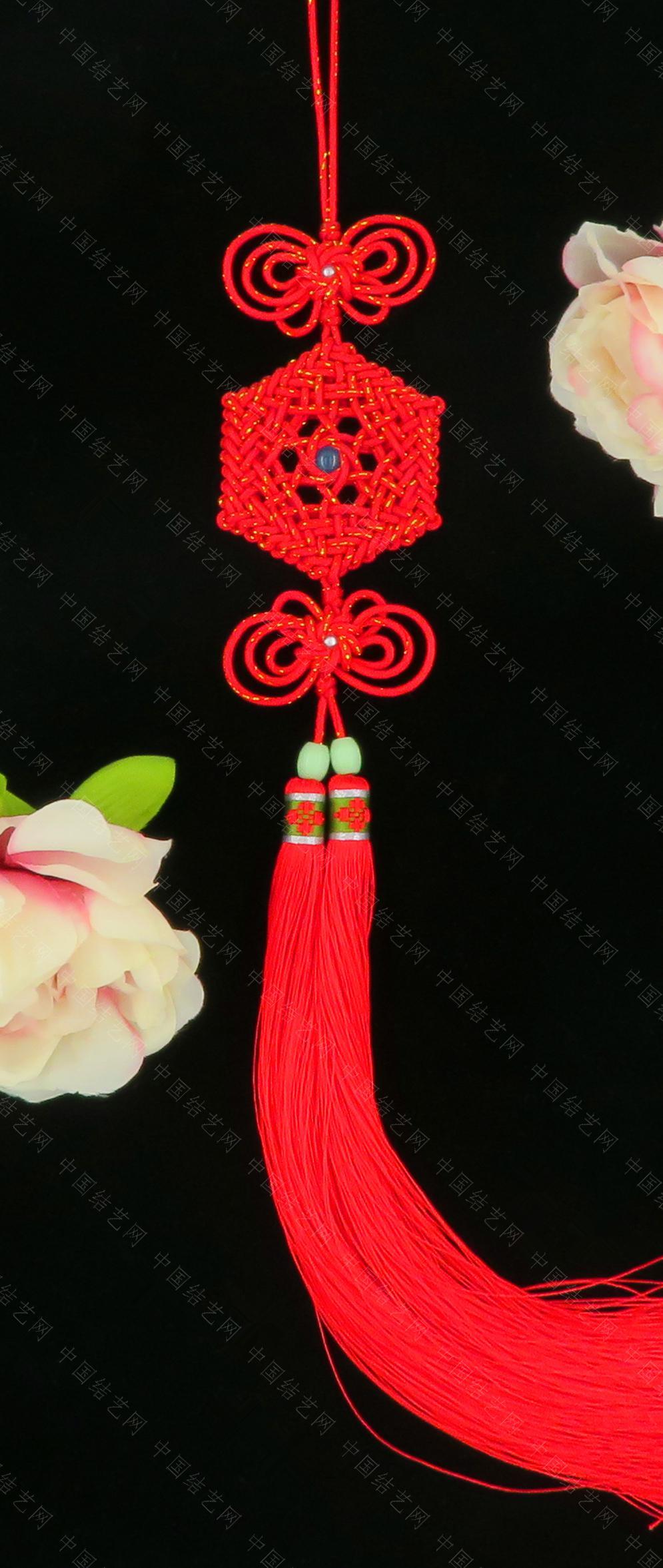 中国结论坛 仿霸王花老师的花纹宝结和星辰结共用套  作品展示 184643am09z7e0r9q2d9z9