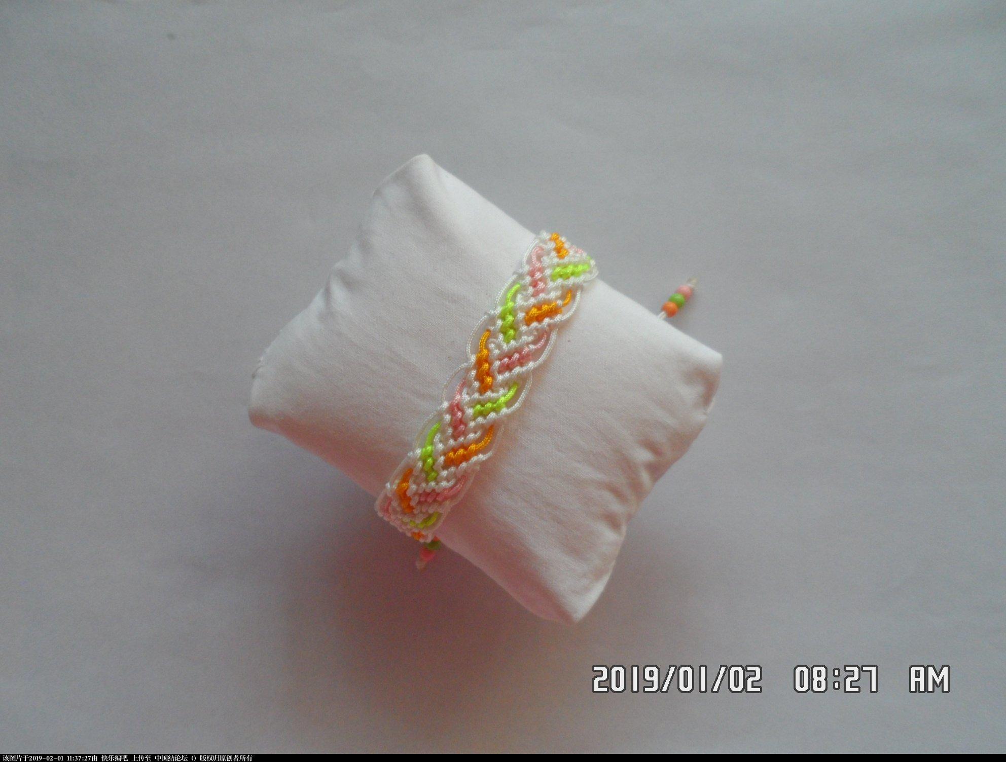 中国结论坛 一款彩色辫子图案手绳的编法 —— 反斜卷结练习  图文教程区 104056st085xcrccirkrmv