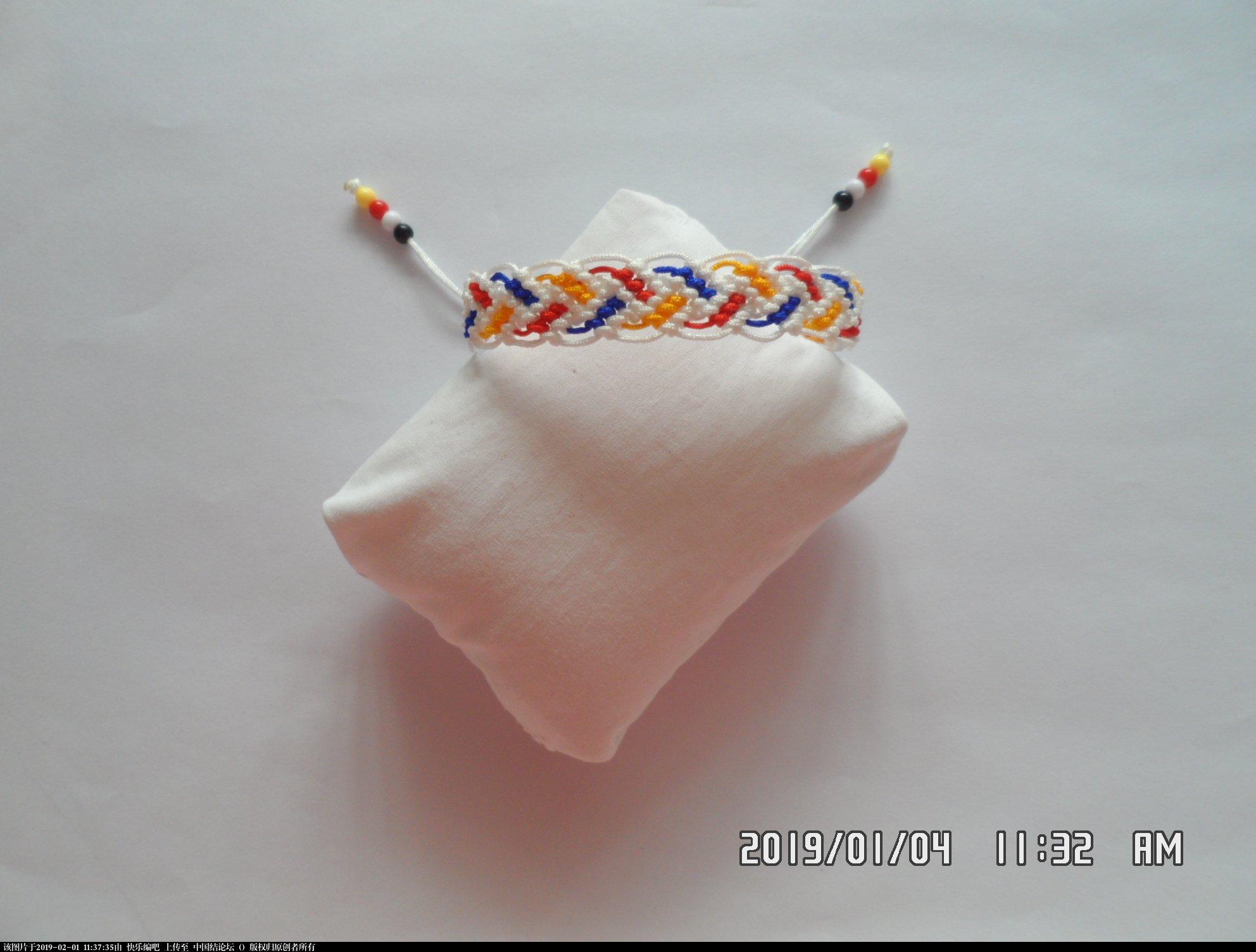 中国结论坛 一款彩色辫子图案手绳的编法 —— 反斜卷结练习  图文教程区 110426j8qzcq8pew1kq4ep