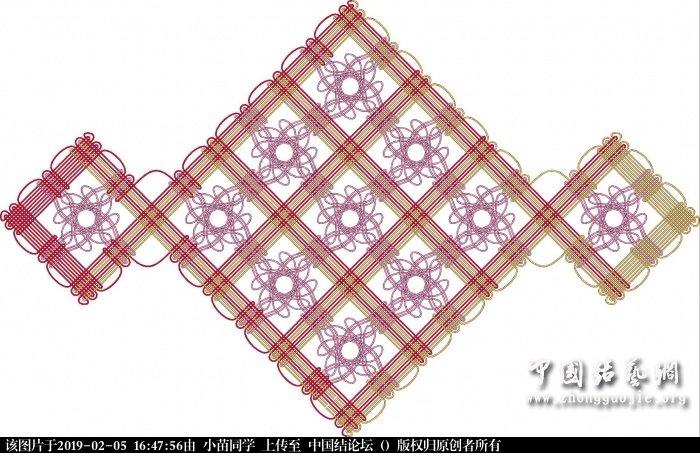 中国结论坛 套色位移盘长春花怒放  作品展示 164746j5srpb2au5uzaaob
