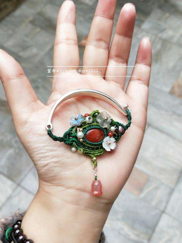 中国结论坛 春意盎然的手镯  作品展示 114614rm9viz9vzsra3ki9