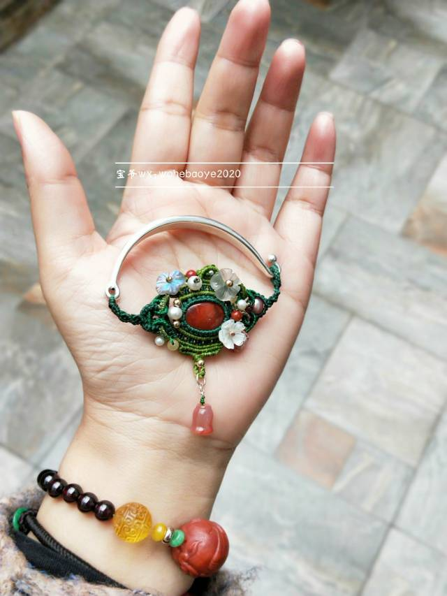 中国结论坛 春意盎然的手镯  作品展示 114614uhcitcrzgqv3mgp0