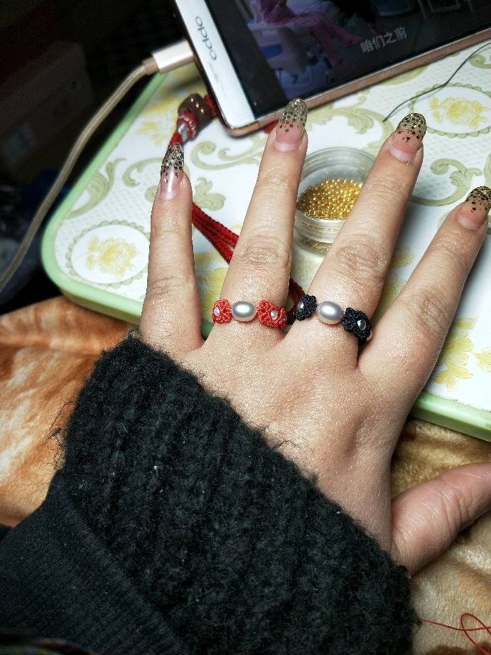 中国结论坛 瞎玩的珍珠戒指  图文教程区 221118ux8lypxsa0088ksa