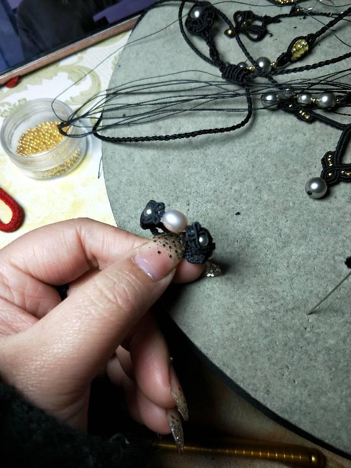 中国结论坛 瞎玩的珍珠戒指  图文教程区 221200ua00api992qpa0kq