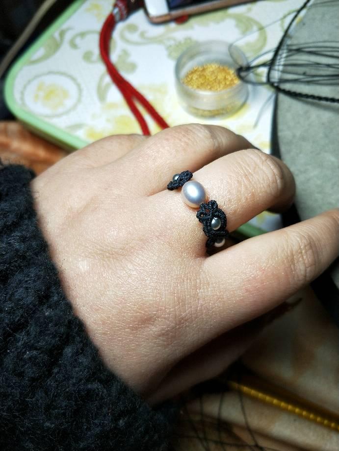 中国结论坛 瞎玩的珍珠戒指  图文教程区 221204w4smwr19w2shwb9m