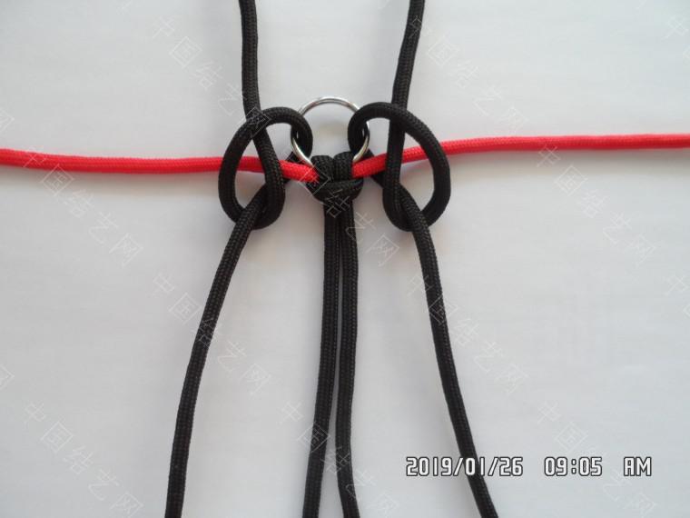 中国结论坛 一款漂亮的伞绳挂件(5) 漂亮的,挂件,漂亮,一款 图文教程区 130913uvvdqacmlc46cvaz