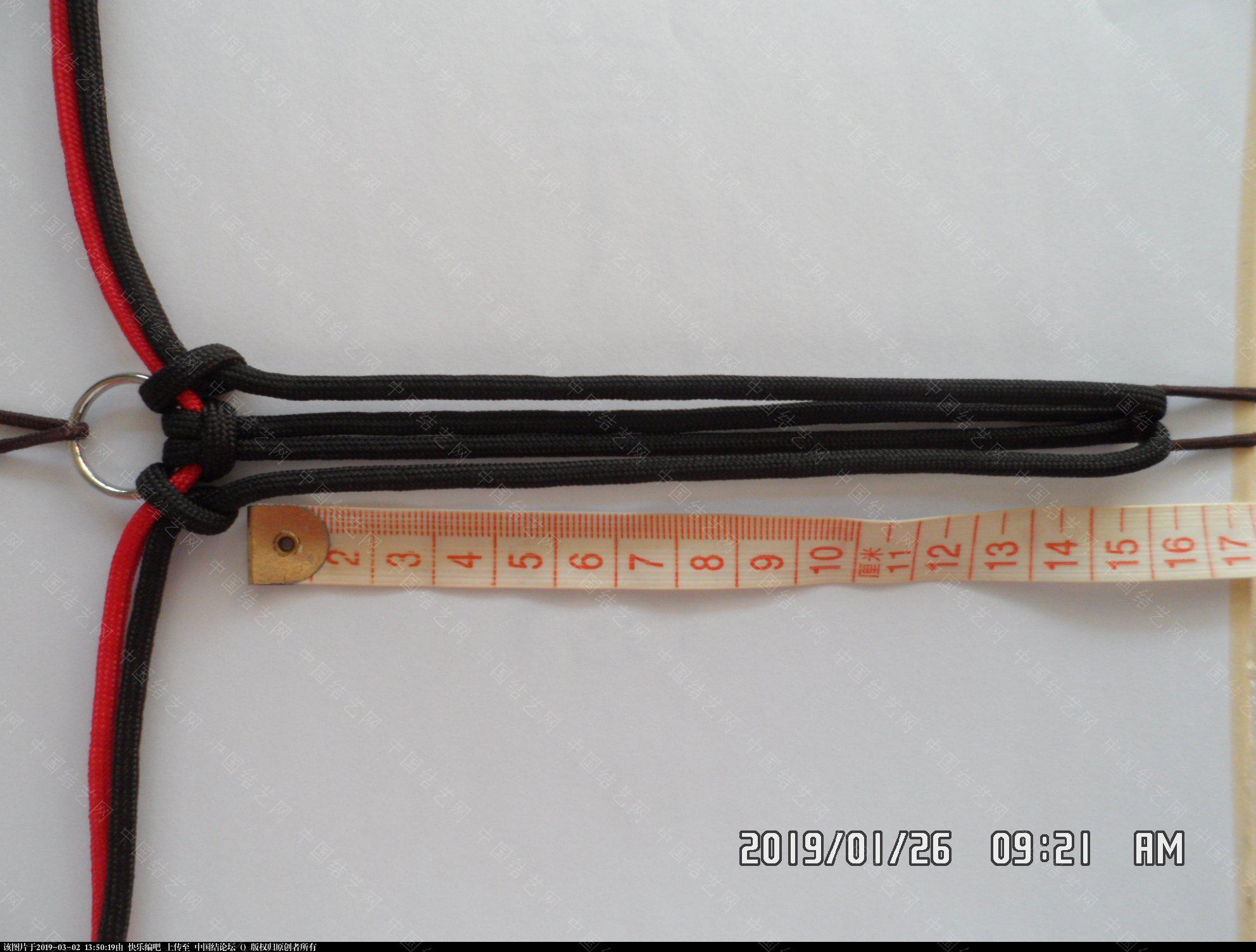 中国结论坛 一款漂亮的伞绳挂件(5)  图文教程区 131458w2srcubz3zf6c3kb