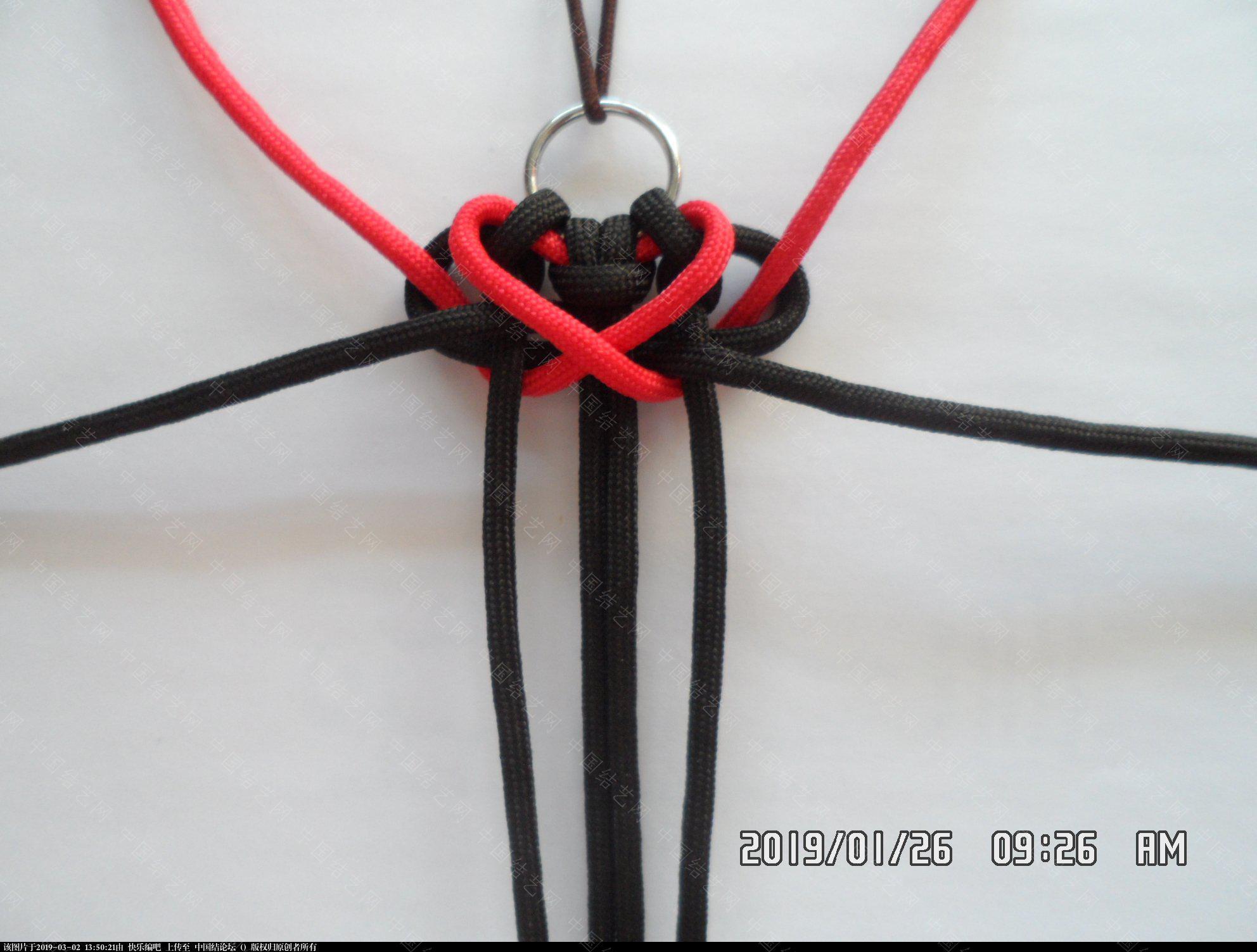 中国结论坛 一款漂亮的伞绳挂件(5)  图文教程区 131848hmgpgprqm90syqze