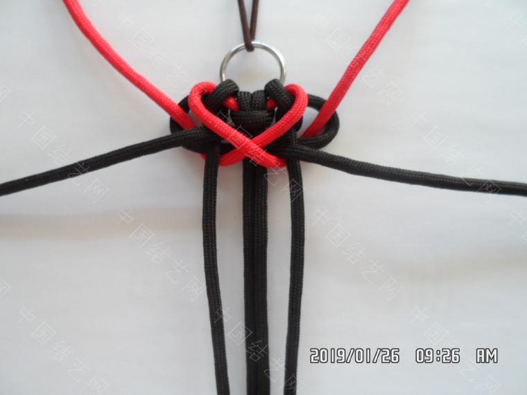 中国结论坛 一款漂亮的伞绳挂件(5) 漂亮的,挂件,漂亮,一款 图文教程区 131848hmgpgprqm90syqze