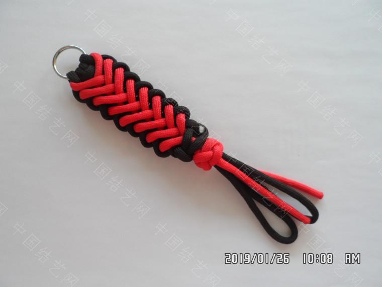 中国结论坛 一款漂亮的伞绳挂件(5) 漂亮的,挂件,漂亮,一款 图文教程区 132334orrd0kyexnraksn0