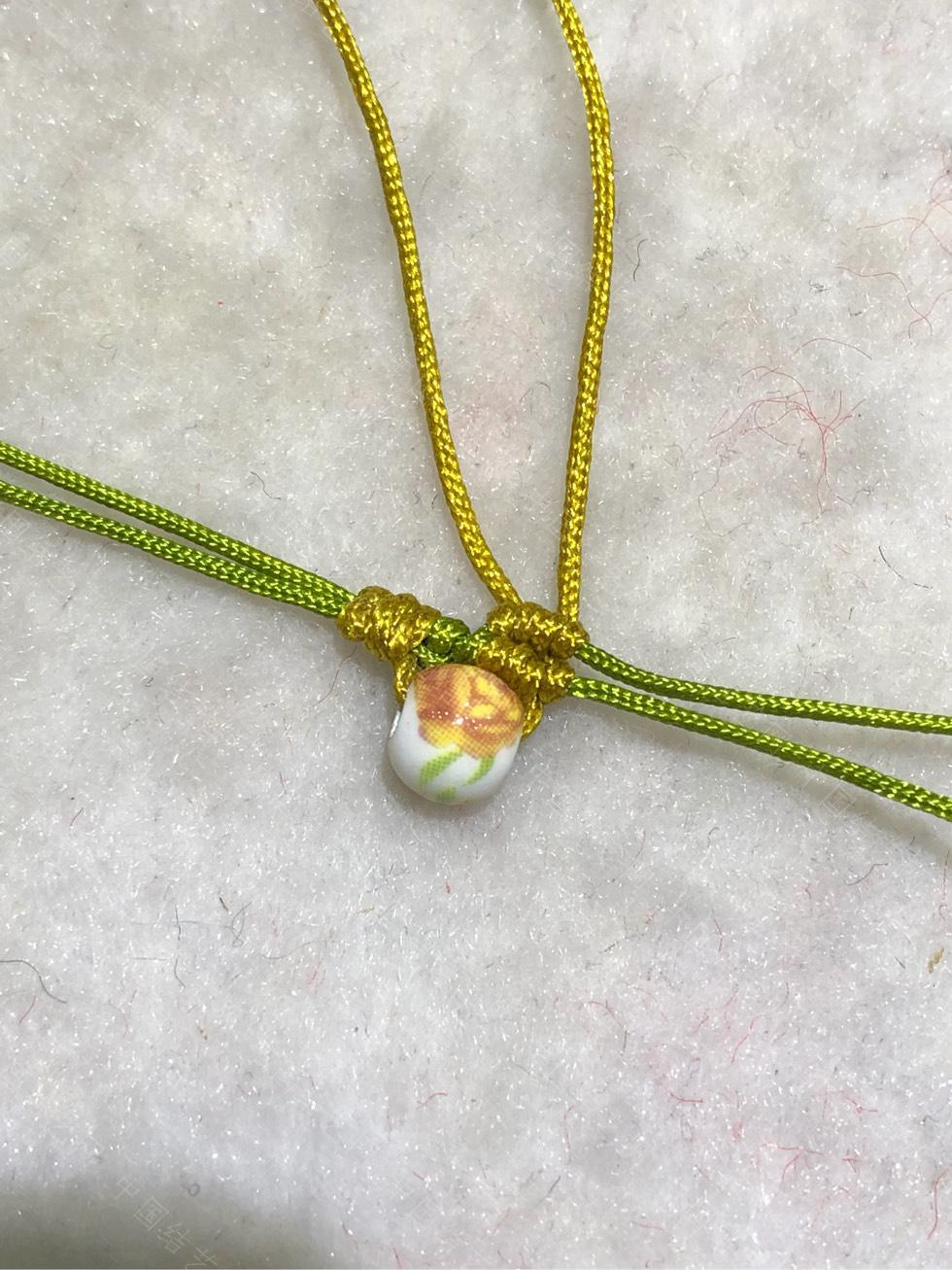 中国结论坛 陶瓷珠蕾丝手链。  图文教程区 144836ouzat9unaftawrmo