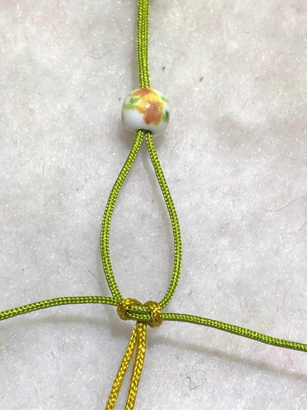 中国结论坛 陶瓷珠蕾丝手链。  图文教程区 144847m4xpvdybz1lewprw