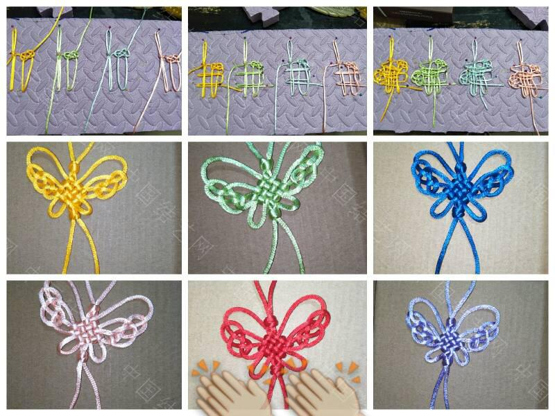中国结论坛 做几个蝴蝶、蜻蜓送小朋友  图文教程区 210146k15757m7gzg2e1k6