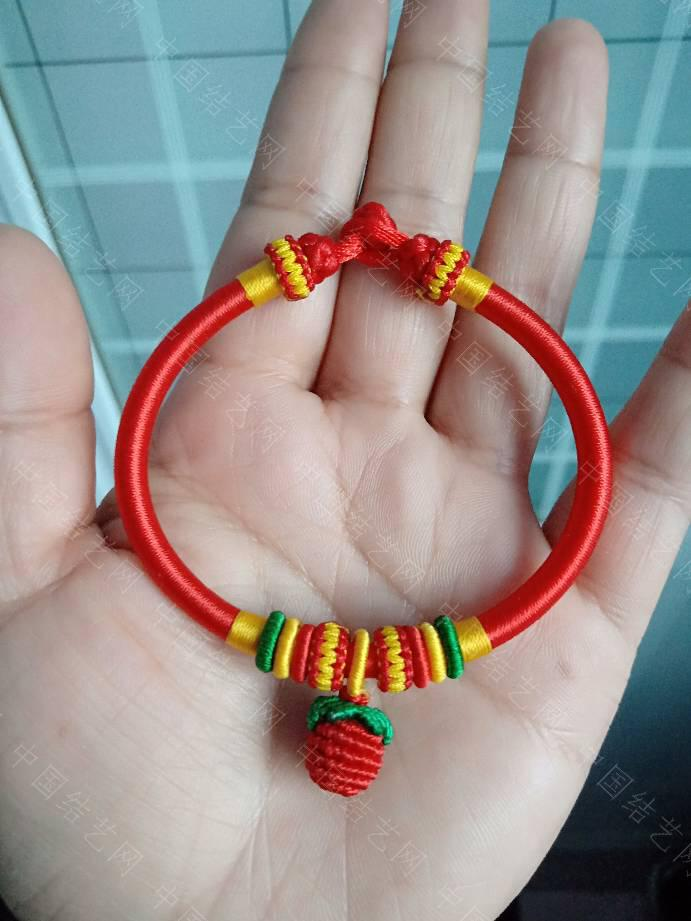 中国结论坛 本命年红绳手镯  作品展示 172400y0k6l9ml1yxkfa8b