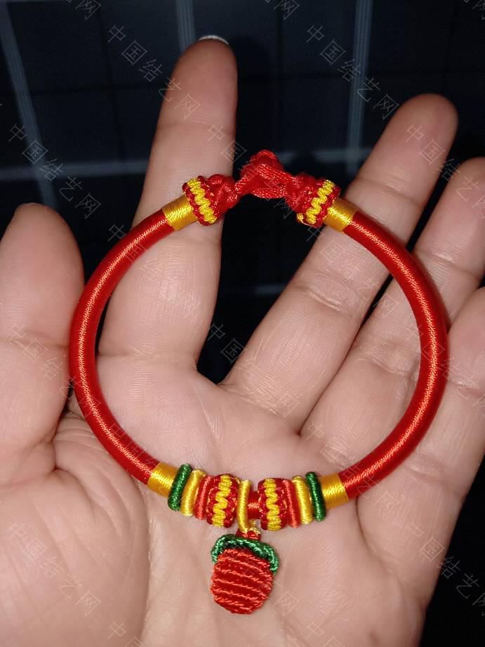 中国结论坛 本命年红绳手镯  作品展示 172402z6o9mae7565n57nq