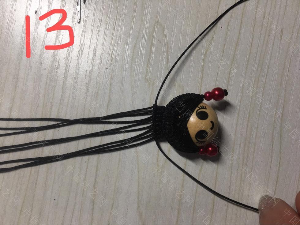 中国结论坛 旗头娃娃教程及用线量  作品展示 130737g4jk5a4niv6690du