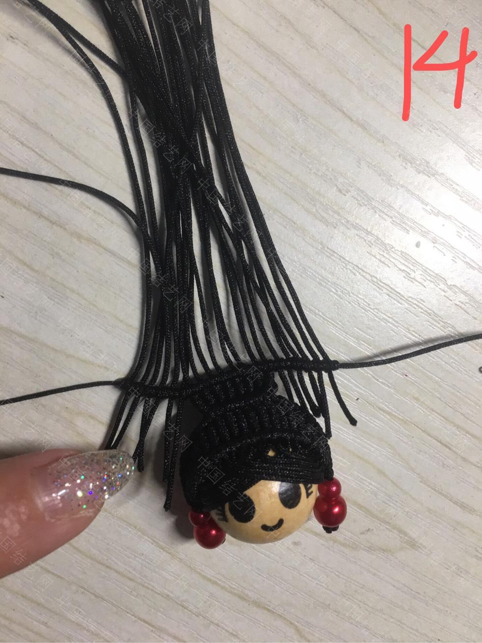 中国结论坛 旗头娃娃教程及用线量  作品展示 130738mkrdykvt2zvzgkrv