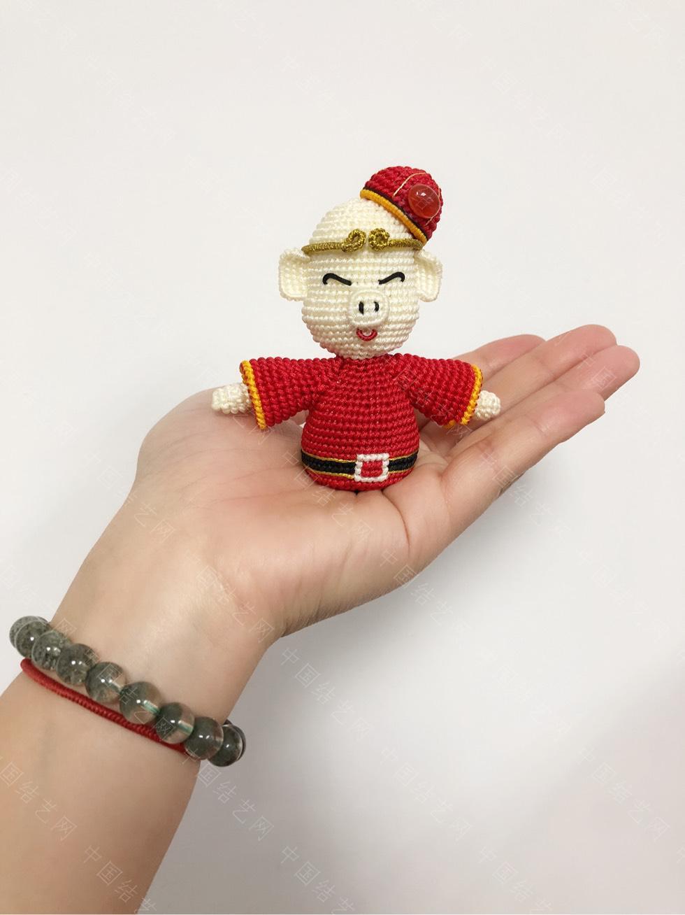中国结论坛 仿璇啭老师的猪财神 结果硬生生的被我编成了猪八戒  作品展示 164408qxquxpkk7kqxc7ss