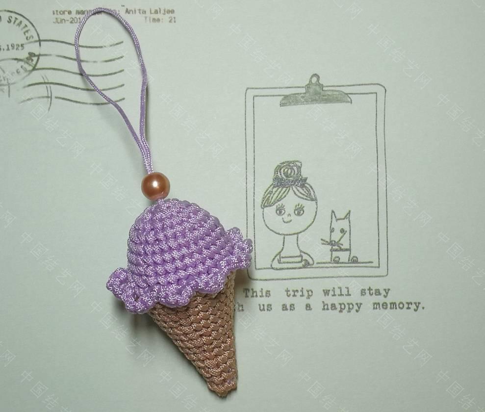 中国结论坛 香芋冰淇淋甜筒来了  作品展示 230328d0032a3je2ka02ae