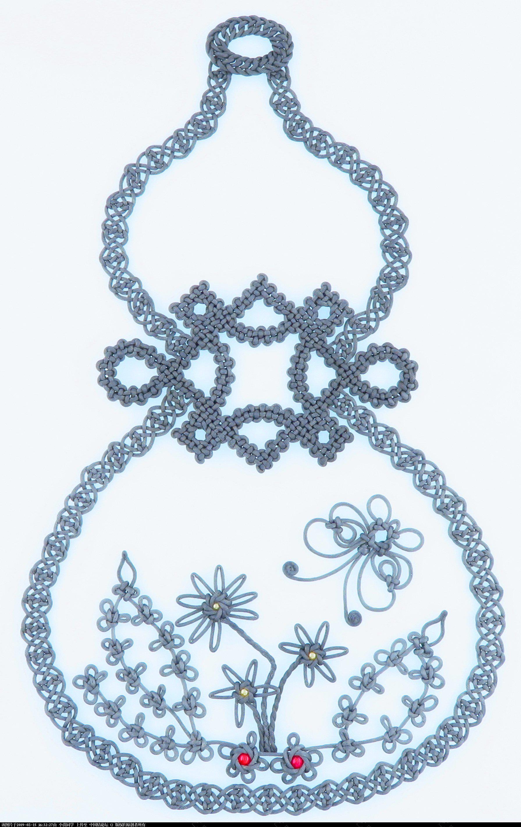 中国结论坛 模仿几何中国结里的葫芦  作品展示 163144oriycrnbyfbyjnyr