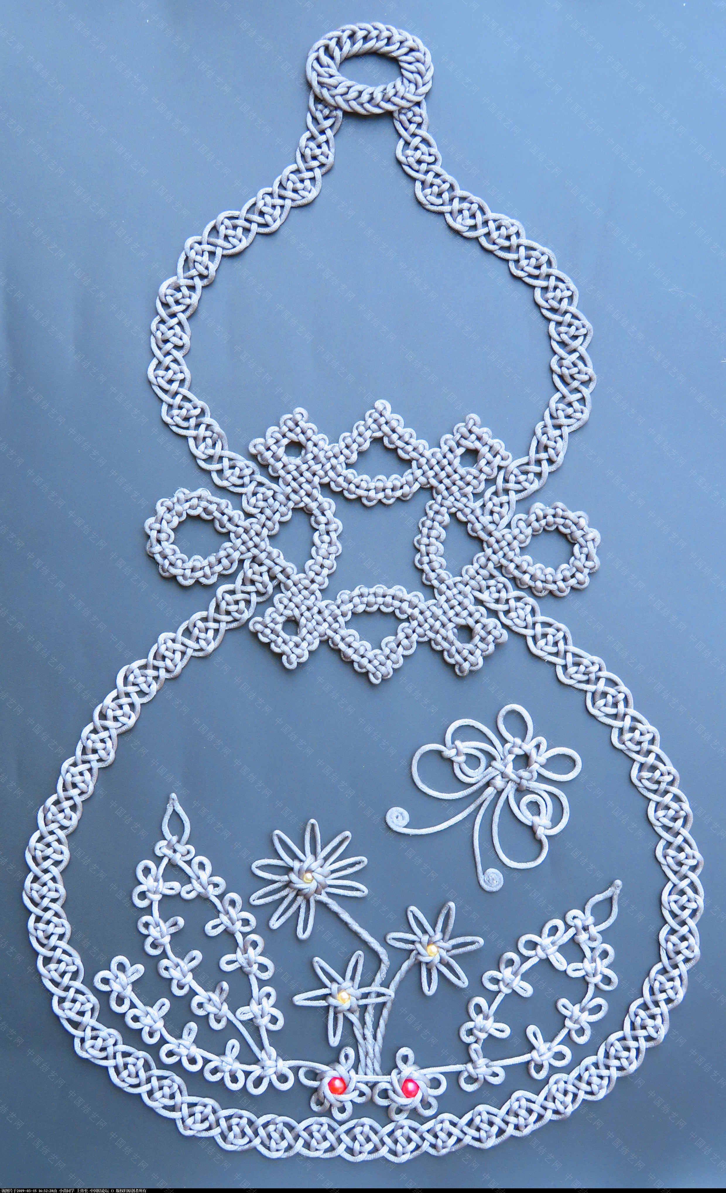 中国结论坛 模仿几何中国结里的葫芦  作品展示 163155d7dessjeriadss77