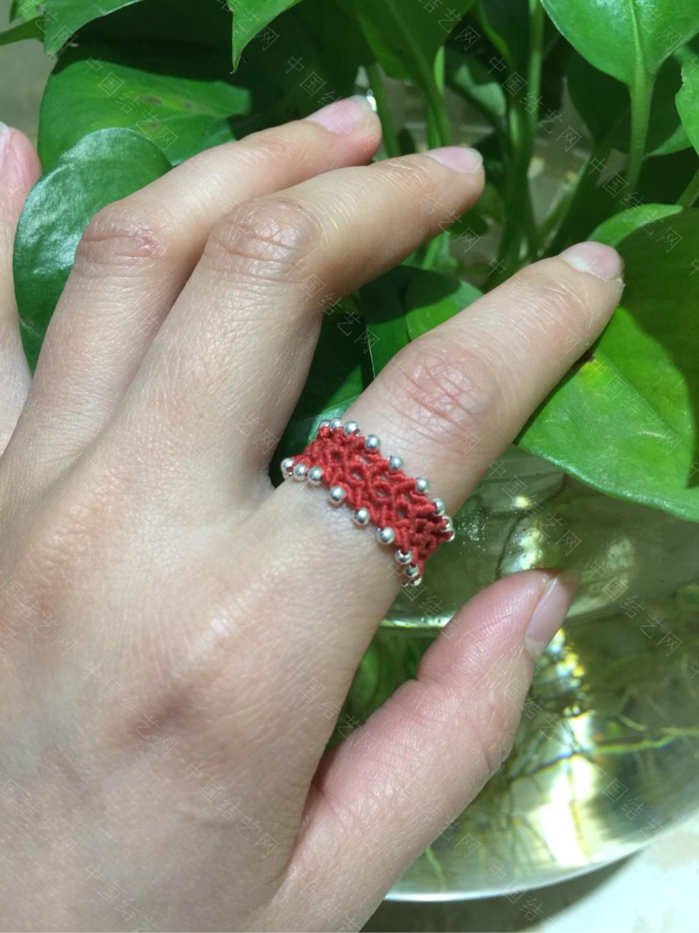 中国结论坛 仿囡绳老师的戒指  作品展示 215014e0ol46x34upvpuul