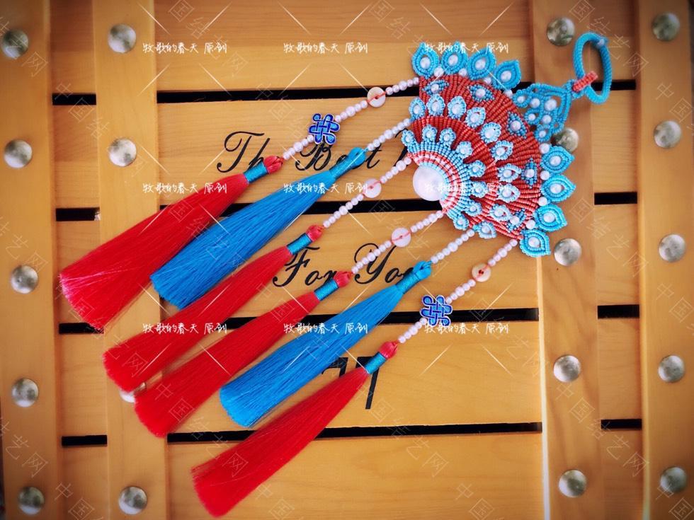 中国结论坛 原创挂饰 复式凤冠花嫁之天青  作品展示 110745l1pl6je1pewzyh1s