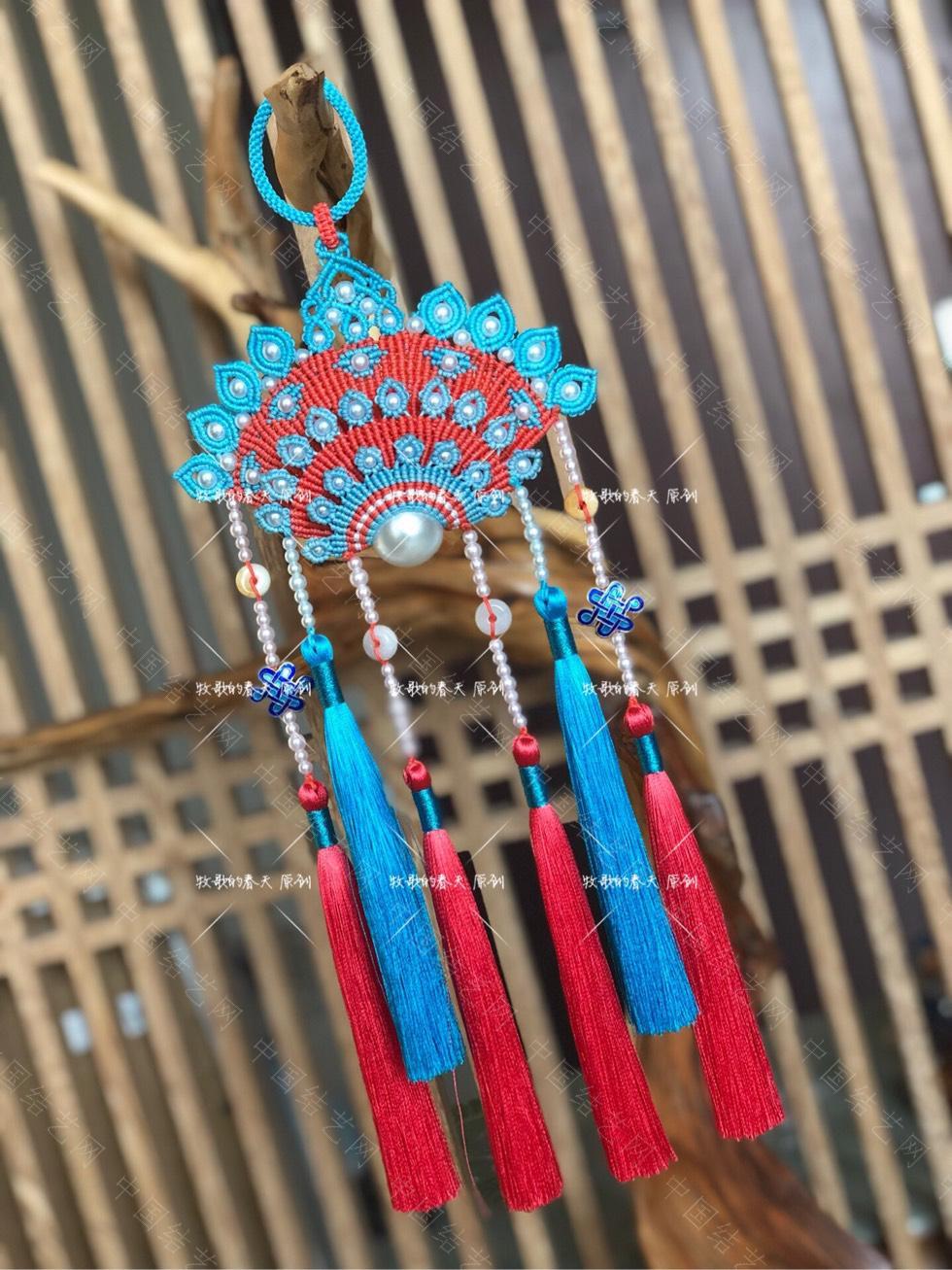 中国结论坛 原创挂饰 复式凤冠花嫁之天青  作品展示 110746r2ujnujnufs2q2ds