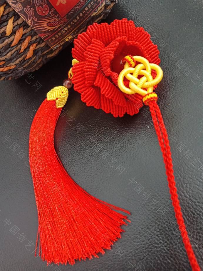 中国结论坛 牡丹车挂  作品展示 090659h71711ocgz11i1r2