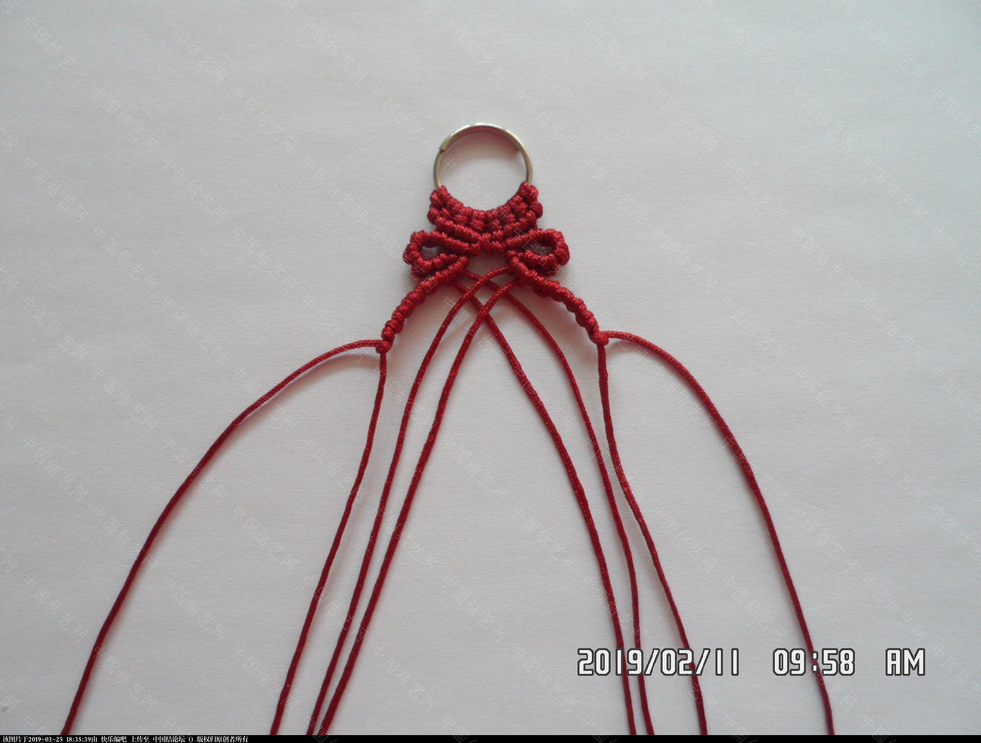 中国结论坛 耳坠 —— 雀头结、斜卷结、反斜卷结组合练习  图文教程区 173352ctcjse0etzs6cmc6