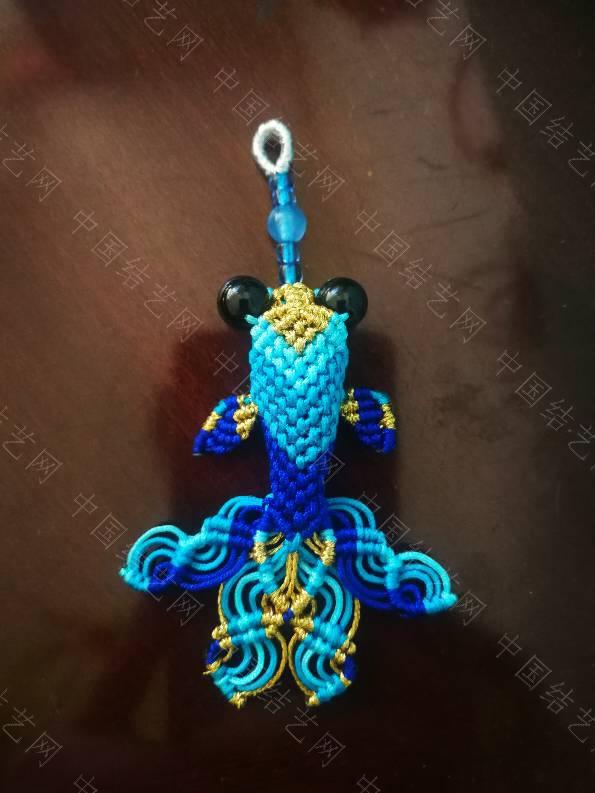 中国结论坛 蓝色小金鱼  作品展示 020246f03zm44yqmm11m10