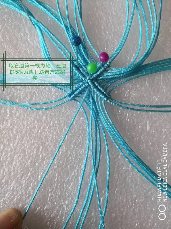 中国结论坛 四叶草!在某宝上看到的图很漂亮!自己琢磨了下做了一个!  图文教程区 090939c7hkgl7maoavvfkf