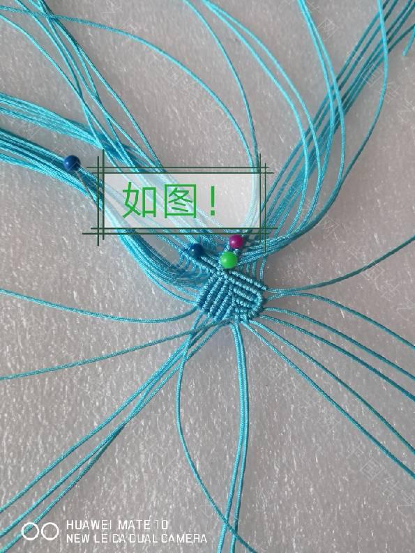中国结论坛 四叶草!在某宝上看到的图很漂亮!自己琢磨了下做了一个!  图文教程区 090945ko1xztii7y1gonfh