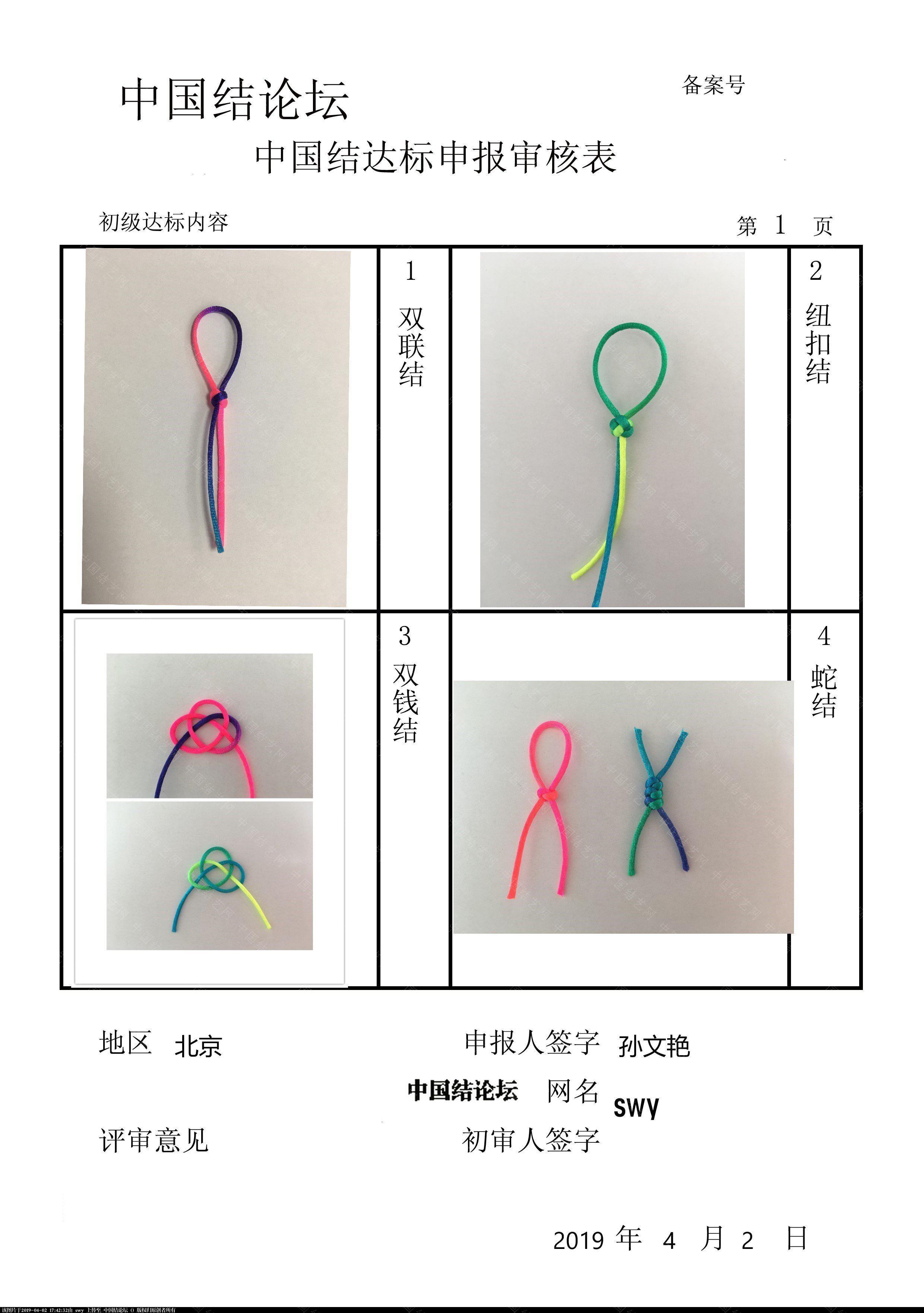 中国结论坛 swy-初级达标申请稿件  中国绳结艺术分级达标审核 163619ic8yep18qpdpcd8e