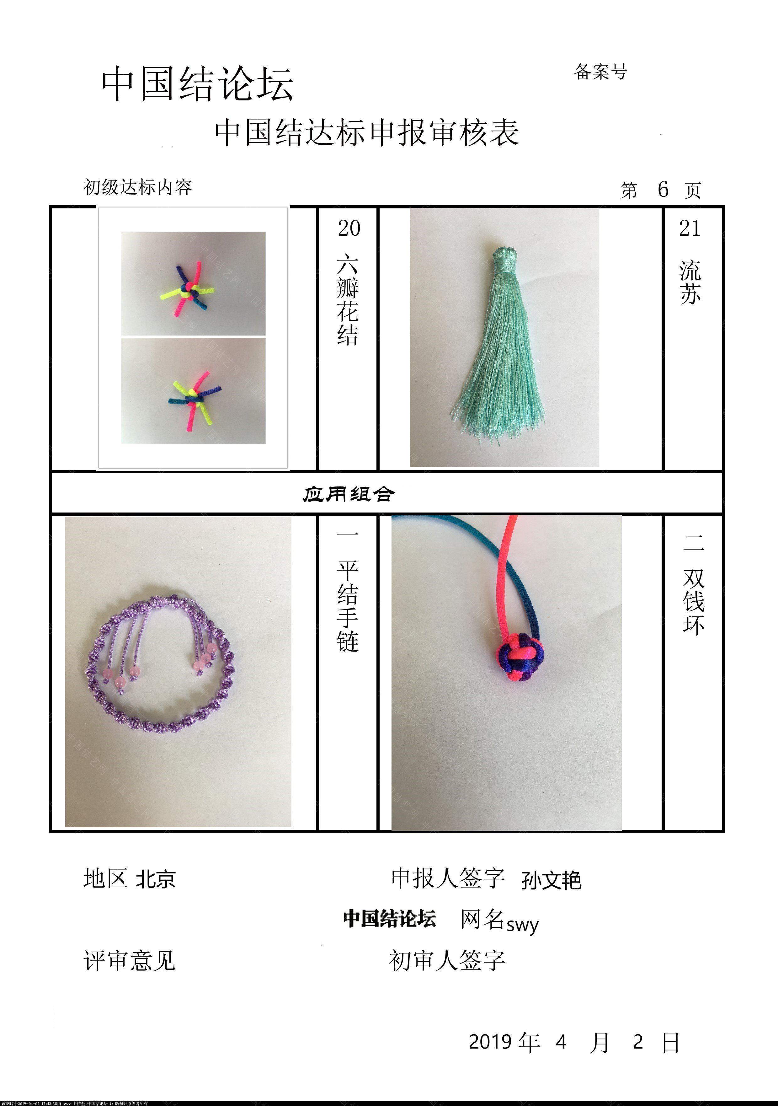 中国结论坛 swy-初级达标申请稿件  中国绳结艺术分级达标审核 163644qmt8ppmvlllpp2az