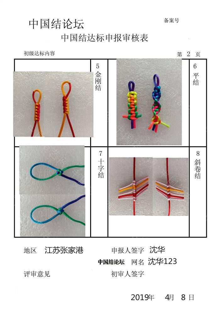 中国结论坛 沈华123-初级达标申请稿件  中国绳结艺术分级达标审核 151133qke999i979zlkikk