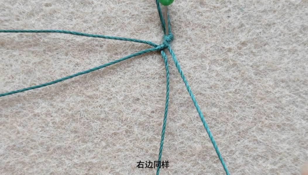 中国结论坛 简约百搭的夏日手绳  图文教程区 195330pxtckw0c4imtatzt