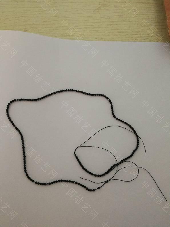 中国结论坛 2mm的黑尖晶,用多粗的线能穿过  结艺互助区 151434ikpntyisshlt5hkl