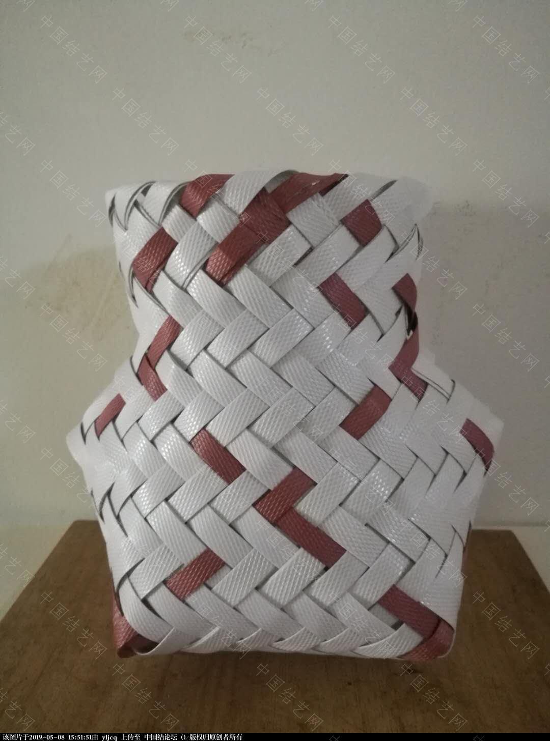 中国结论坛 打包带编织鱼篓  作品展示 155127wq7bqq6s6a116sao