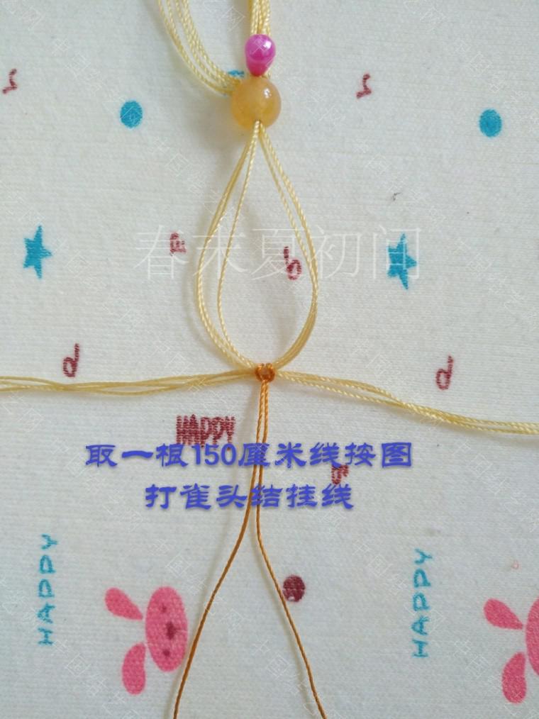 中国结论坛 凡素手绳 手绳怎么戴在手上图解,二根绳子编手绳简单,一根绳子怎么编手绳,手把件的绳如何编,一根绳子编手绳 图文教程区 182051qlmcim5gluu1loc5