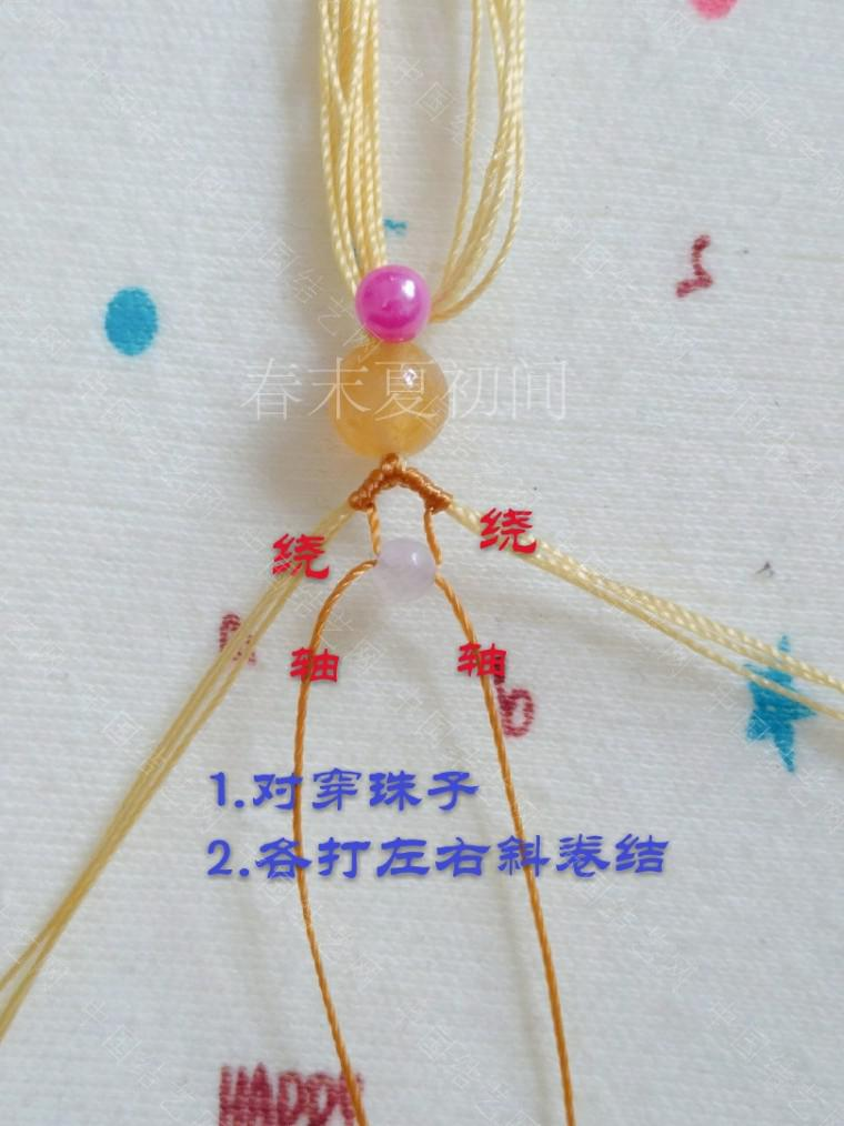 中国结论坛 凡素手绳 手绳怎么戴在手上图解,二根绳子编手绳简单,一根绳子怎么编手绳,手把件的绳如何编,一根绳子编手绳 图文教程区 182055d9x92zx2r9ei1ttf