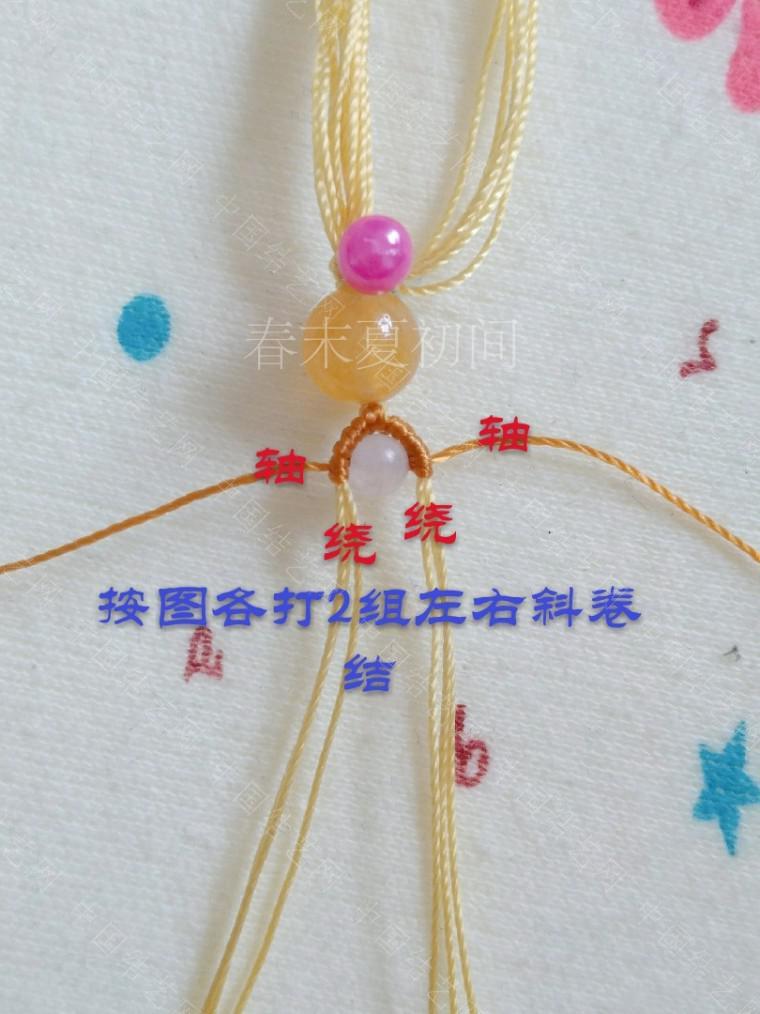 中国结论坛 凡素手绳 手绳怎么戴在手上图解,二根绳子编手绳简单,一根绳子怎么编手绳,手把件的绳如何编,一根绳子编手绳 图文教程区 182056ud89i4c5d977cpbk