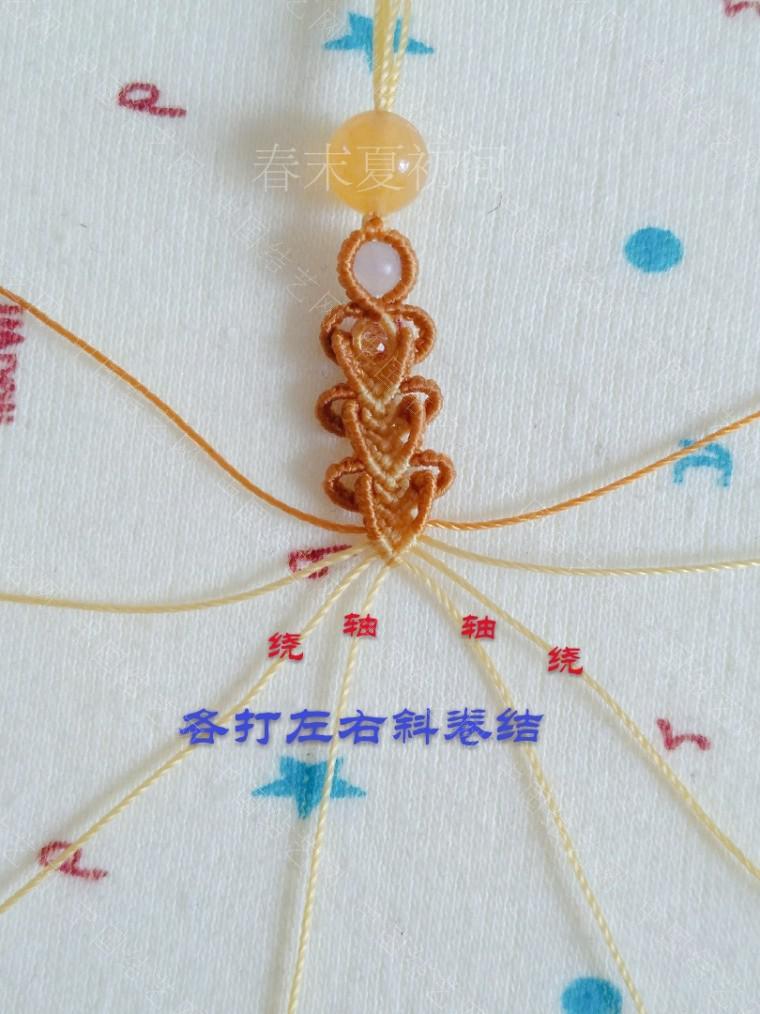 中国结论坛 凡素手绳 手绳怎么戴在手上图解,二根绳子编手绳简单,一根绳子怎么编手绳,手把件的绳如何编,一根绳子编手绳 图文教程区 182109lp5p560v514j0hhp