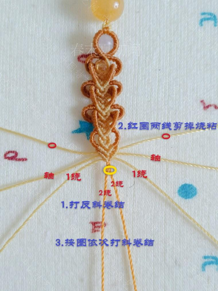 中国结论坛 凡素手绳 手绳怎么戴在手上图解,二根绳子编手绳简单,一根绳子怎么编手绳,手把件的绳如何编,一根绳子编手绳 图文教程区 182112j6644znnslc4u966