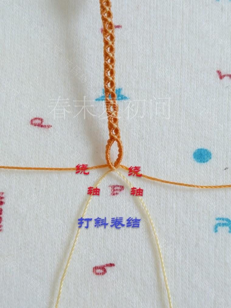 中国结论坛 凡素手绳 手绳怎么戴在手上图解,二根绳子编手绳简单,一根绳子怎么编手绳,手把件的绳如何编,一根绳子编手绳 图文教程区 182116ro3y9fffoj9v3y9l